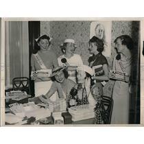 1936 Press Photo Bellevue Stratford Hotel o Philadelphia