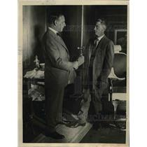 1922 Press Photo William Hayes at International Convention of Barbers