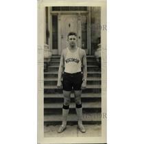 1928 Press Photo Frank Orth of University of Wisconsin