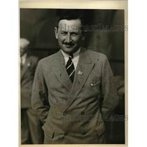 1926 Press Photo Colonel E.F. Lawson president of the British Advertising Ass.