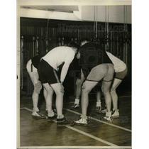 1926 Press Photo Princeton University Basketball Team, New Jersey