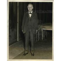 1929 Press Photo Josephus Daniels Newspaper Publisher & Former Navy Secretary