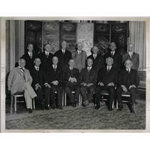 1935 Press Photo Newspaper Editors Gather At Annual Associated Press Meeting