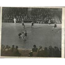 1928 Press Photo Amityville NY High School and Catholic High of Philadelphia