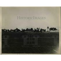 1925 Press Photo American International Polo team at Meadowbrook