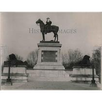 1920 Press Photo  Statue of General Grant 2nd Largest in World