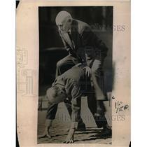 1921 Press Photo S.J. Coogler and Sam Sheppard, former Atlanta Police Officers