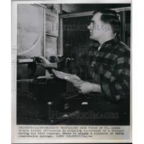 1949 Press Photo Outfielder Dick Kokos of the St. Louis Browns - nea58811