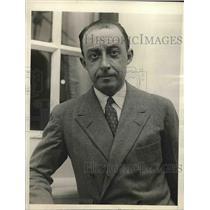 1927 Press Photo Buron Santiago Guell a rich Spaniard. - nea64063