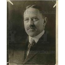 1918 Press Photo James Pershing Chicago Clothing Salesman & Brother Of Geno