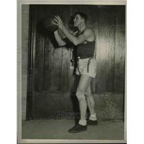 1927 Press Photo Rut Walters, Northwestern University Basketball
