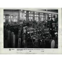 1929 Press Photo Supercharger-Impeller Manufacturing Building