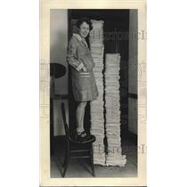 1929 Press Photo letters to Union Pacific Railroad regarding west vacations