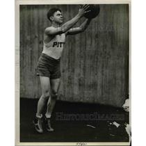 1928 Press Photo Charles Wunderlich, Basketball Team Captain, Pitt