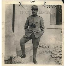 1918 Press Photo Colonel Pietro Gleifeses Commander Of Italian Infantry