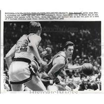 1969 Press Photo John Haylicek, Celtics, Hal Greer, Billy Cunningham, 76ers