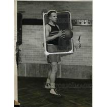 1926 Press Photo Cadet Dudley G Stricker, Captain US Military Academy Basketball