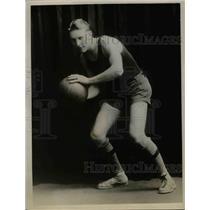 1926 Press Photo Earnest Morgan, Washington State College Basketball