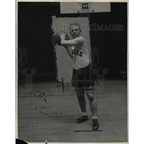 1926 Press Photo Chester Wilcox, Purdue University Basketball