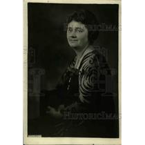 1922 Press Photo Mrs. E. J. Henning, wife of Assistant Secretary of Labor