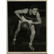 1928 Press Photo Russel Walter, Northwestern University Basketball Center