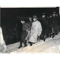 1937 Press Photo Victims of Air Plane Crash in California - nea62591