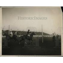 1924 Press Photo Polo match at Cooperstown in progress