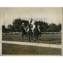 1926 Press Photo Hurricane Polo team in action at Rumson, N.J vs Argentina
