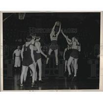 1937 Press Photo Harry Yale of Oceanside High School