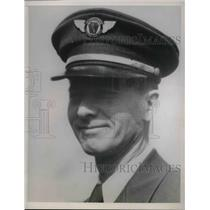 1938 Press Photo Pilot H. L. Smith, Penna - Central Airlines - nea59972