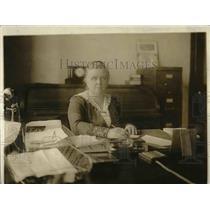 1914 Press Photo progressive era social reformer, criminologist Katherine Davis