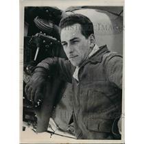 1941 Press Photo Dale Delanty Student Pilot Instructor At Kansas University