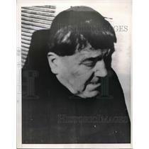 1952 Press Photo Former Neo-Nazi Party Chief Eberhard Stern Claims To Have Seen