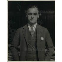 1926 Press Photo Ward Lambert, Coach of Purdue Basketball Team