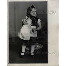1929 Press Photo Slovenian girl, Antonette Kosicak