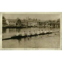 1918 Press Photo US Army at Henley crew race on the Thames river - nea66244