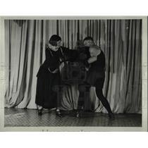 1923 Press Photo Gym