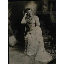 1918 Press Photo Mrs. M. C. Fenton of War Mothers of Maryland