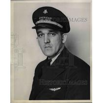 1938 Press Photo Ellwood James Goeringer Second Pilot American Airlines