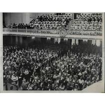 1933 Press Photo Red Cross convention at Memorial Continental Hall in D.C.