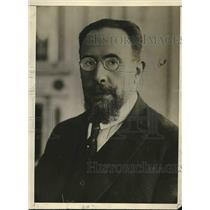 1925 Press Photo new Chilean president M. Quezada, ex-Chilean Minister to France