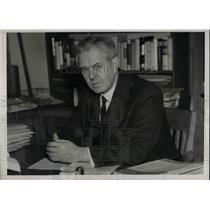 1938 Press Photo William Gilroy newspaper columnist