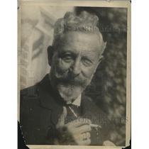 1922 Press Photo Emperor William Interned In Doorn, Netherlands
