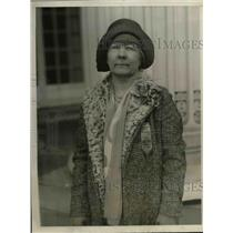 1930 Press Photo Lulu Shakespeare attending Women's Patriotic Conference