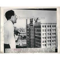 1948 Press Photo Van Auken GM Of Wichita Chamber Of Commerce