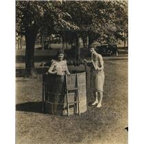 1921 Press Photo Wilson College,Chambersburg, Pa. H Aull & D Winchester