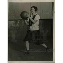 1927 Press Photo Grace Keeler Drexel Institute Co-Ed Basketball - nea66946