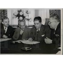 1939 Press Photo APn Amer, Comm, D Hoan, R Brouard,AB Mendieta,M Rodo