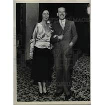 1931 Press Photo Screen actor & comedian Jack Mulhall & his wife
