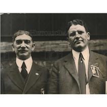1920 Press Photo J.A. Ryan & Mr McNary in El Paso, Texas